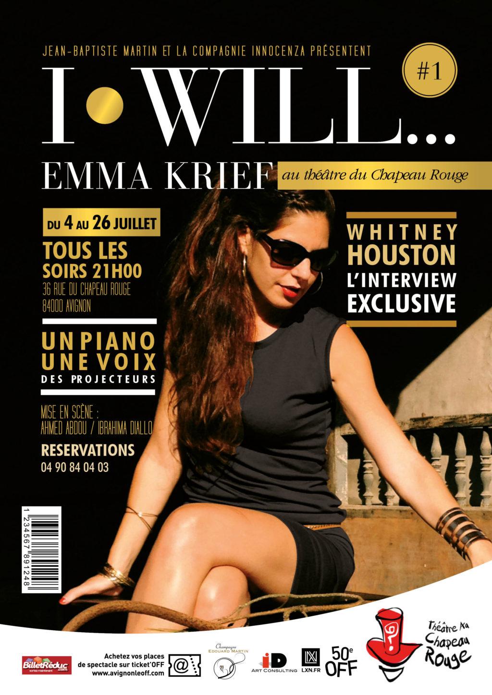 Emma KRIEF • Affiche  Format A4 – 28-04-2015
