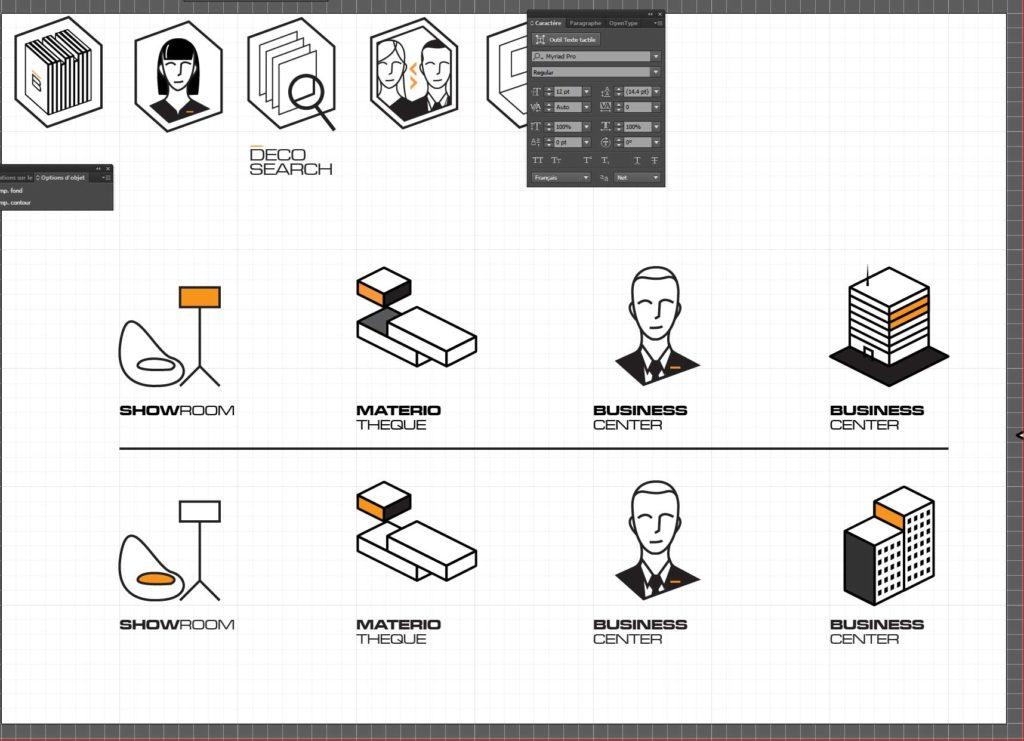 Création de pictogrammes Agence de publicité Paris Lagny sur Marne Adstriver